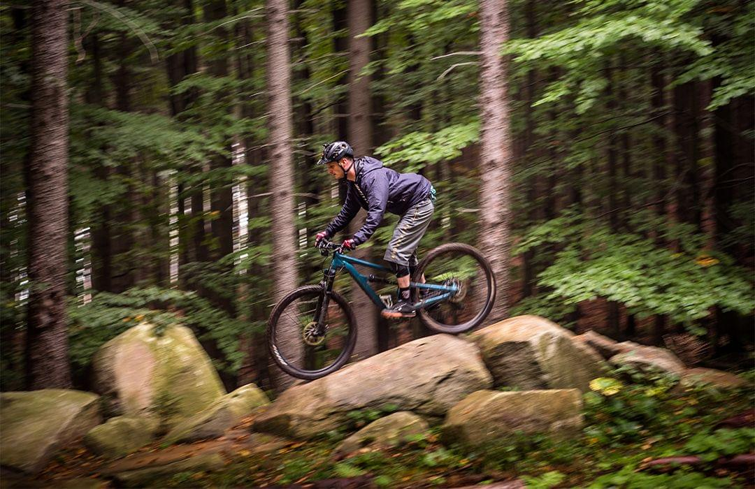 Develop your skills by riding new trails with new conditions