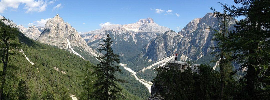 MTB trips to Dolomites Italy