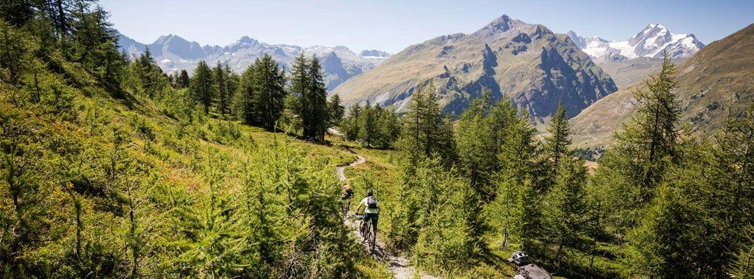 Three Seasons MTB trips in the Aosta Valley Italy