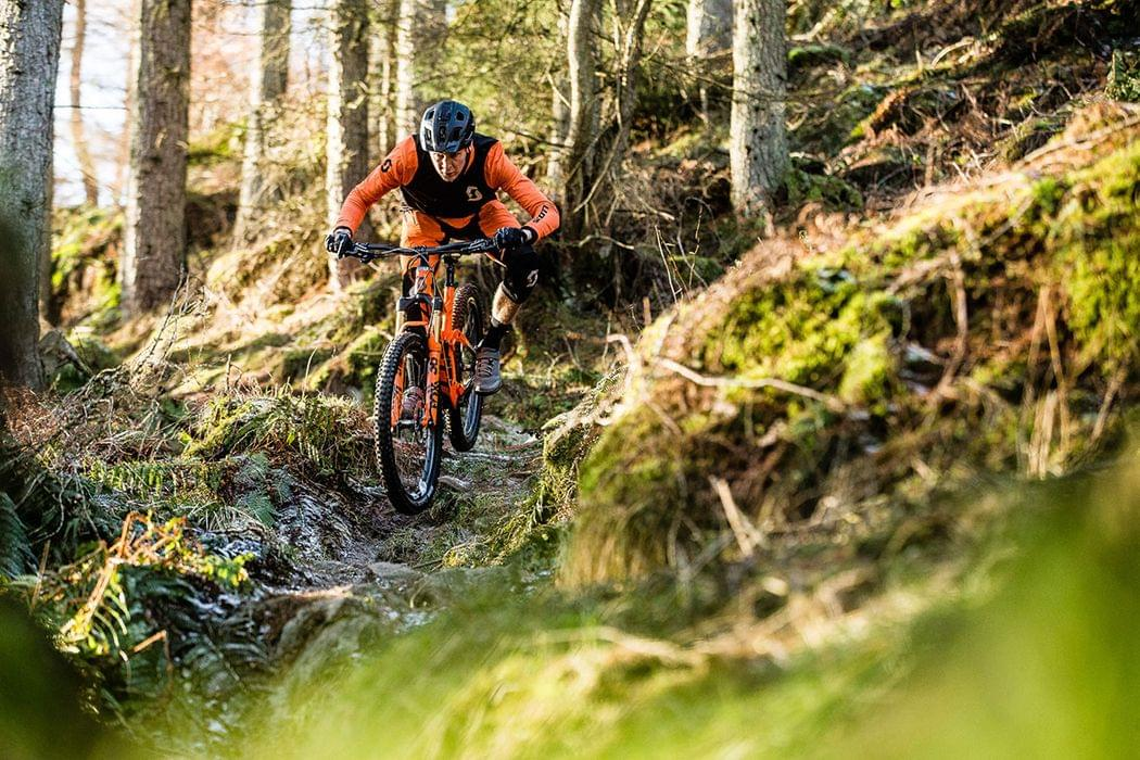 Ride with Scotty Laughland mountain bike tour