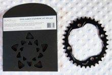 AbsoluteBlack oval chainring unboxed