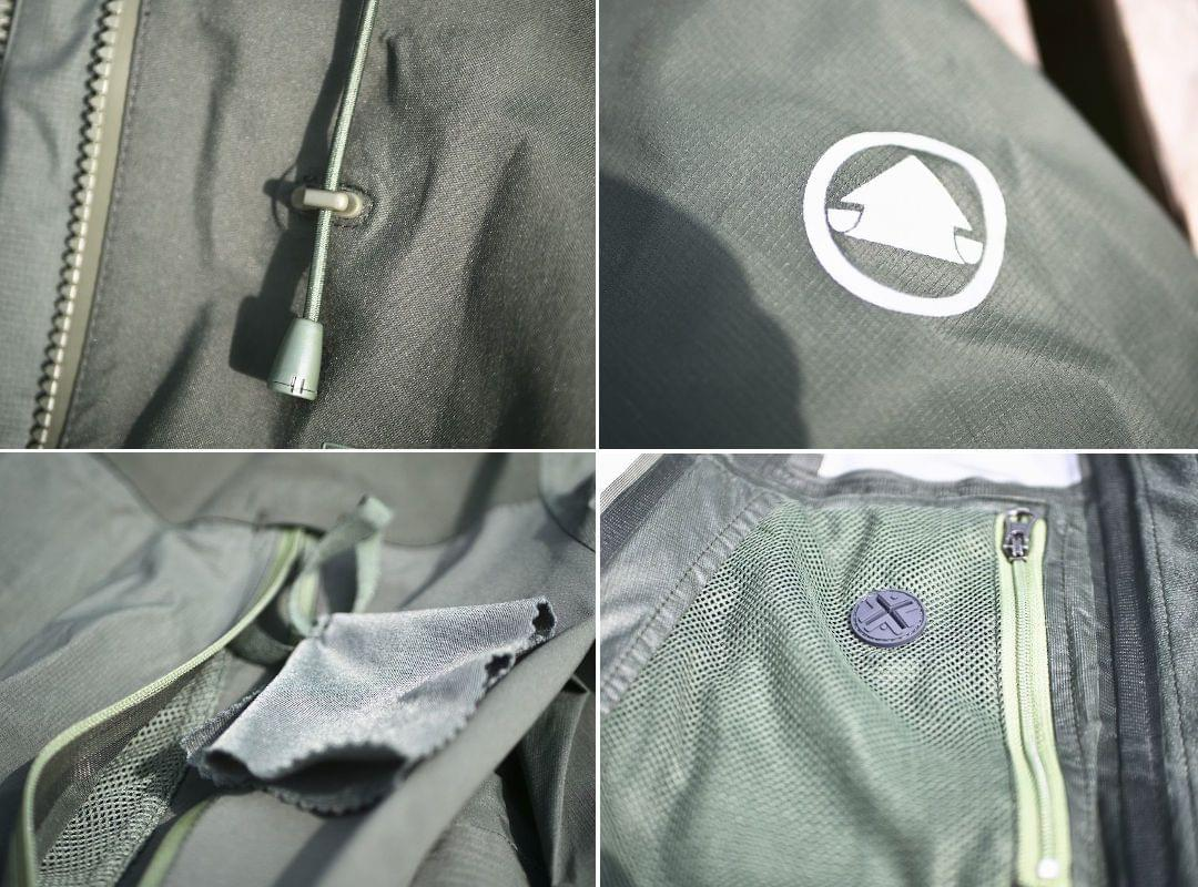 Extra features on the MT500 MTB Jacket