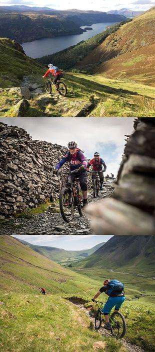 MTB in the Lake District England