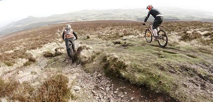 freeride mountain bikers ireland