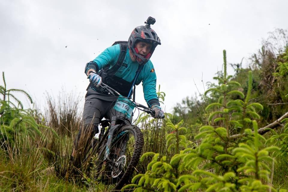 Emerald MTB rider at Grassroots Enduro Ballyhoura