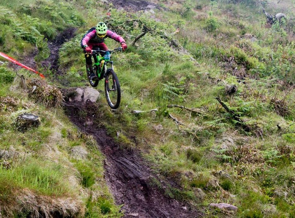 Killarney Cycling Club rider Jason Murphy at the Grassroots Enduro
