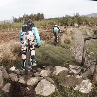 mountain biking ireland wicklow