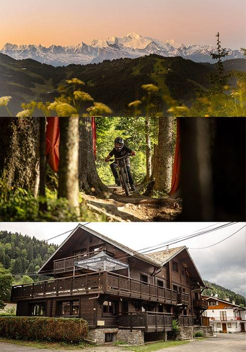 Morzine mountain biking package by MTB Beds