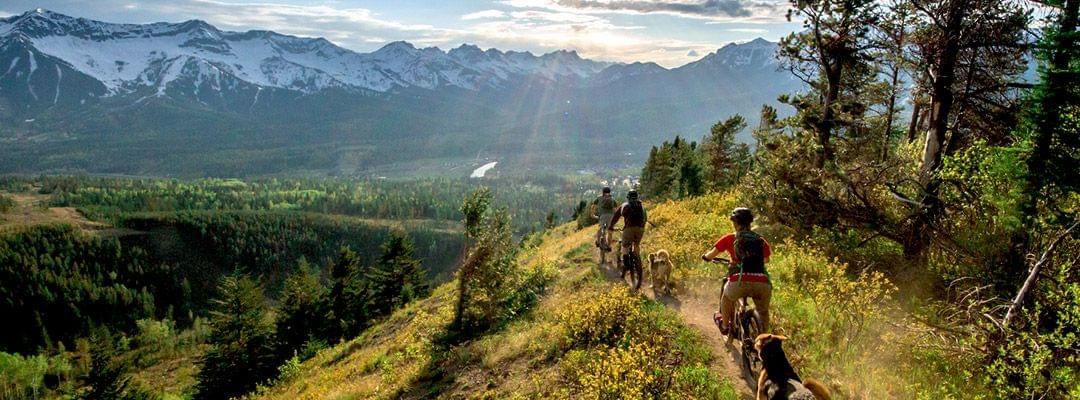 BC Canada Mountain Biking Adventure