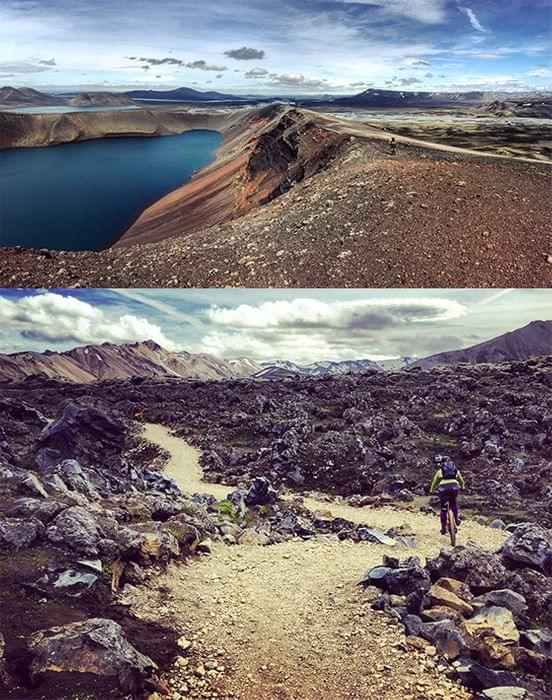 Icalend volcanic mountain bike adventures