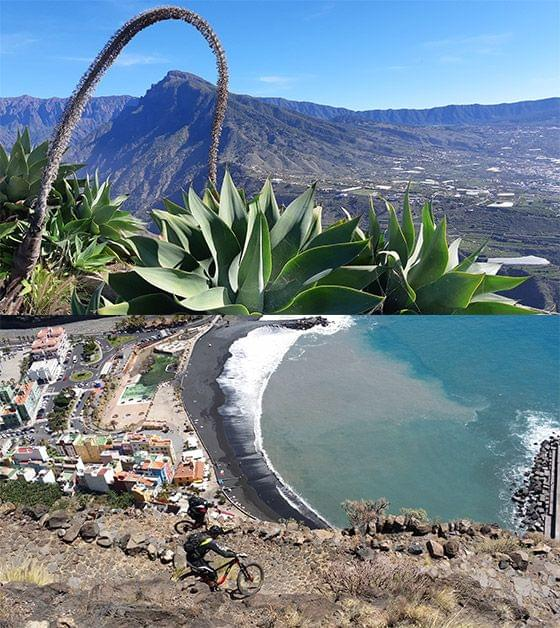 La Palma mountain biking in the Canary Islands