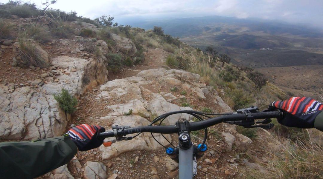 MTB handlebar testing in the Sout of Spain