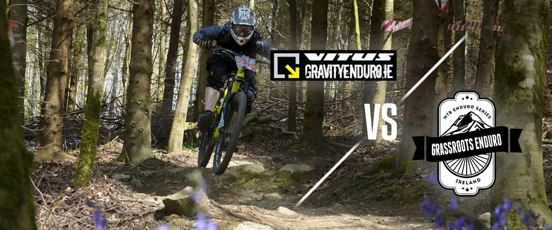 Grassroots Enduro series compared to the Ireland Gravity Enduro