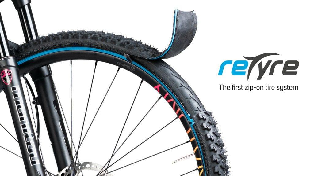 reTyre the World's First Modular Bike Tyre System