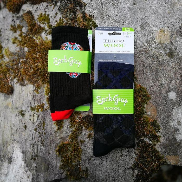 Sockguy performance and turbo wool socks