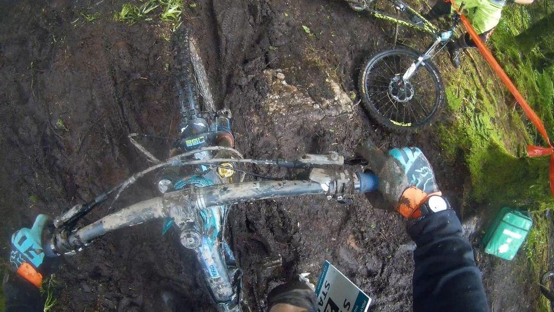 muddy enturo trails